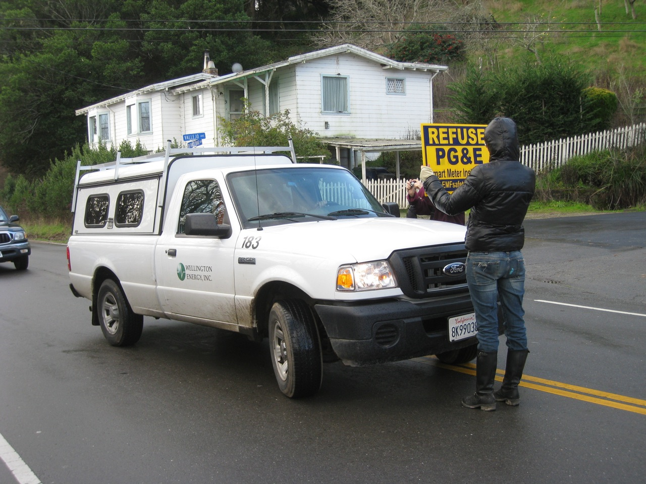 "Holiday Smart Meter Showdown"" In West Marin: PG&E Orders Arrests Of ..."